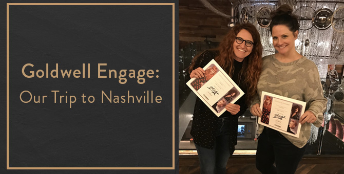 Goldwell Engage: Our Trip to Nashville