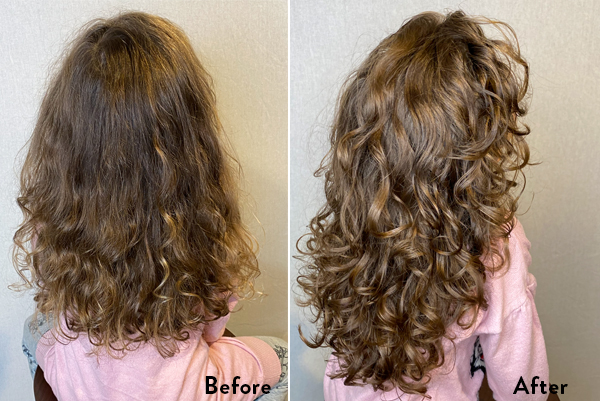 DevaCurl: Before & After