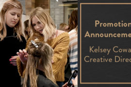 Promotion Annoucement: Kelsey Cowan, Creative Director