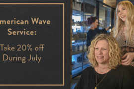 American Wave Service: Take 20% of During July