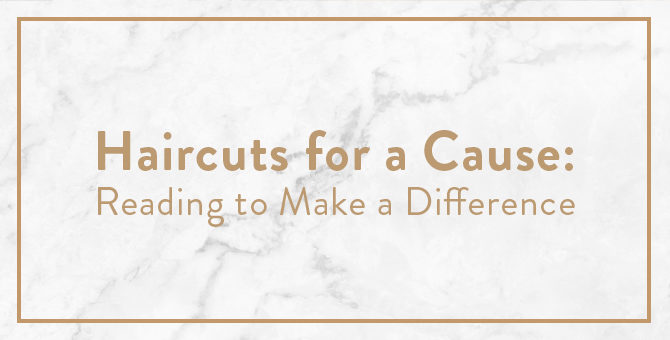 Haircuts for a Cause: Reading to Make a Difference