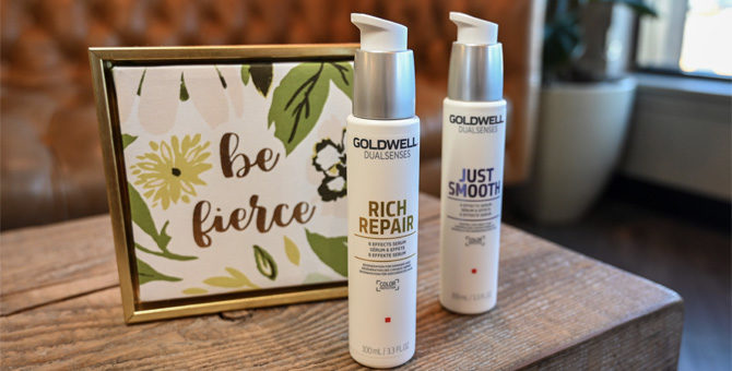 Goldwell Rich Repair and Just Smooth Serum